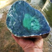 Rough Nephrite jade 3,7kg - Giok Aceh