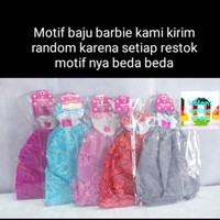 New valent online shop baju boneka barbie /mainan anak perempuan