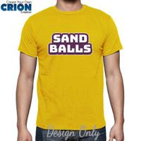 Kaos Sand Balls - Sand Balls Logo - By Crion