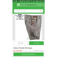 Celana Pendek HR 305 Cargo