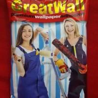 Lem wallpaper bisa untuk 8 roll wallpaper ukuran 55cm x 10m