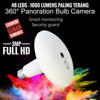 CCTV Lampu spy camera 3MP Teknobi 1000 Lumens 48 Led