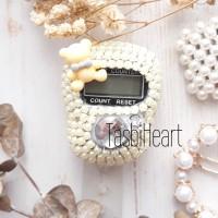 Tasbih Digital Cincin Mutiara Swarovski | Bear - 7 Warna + Free Box