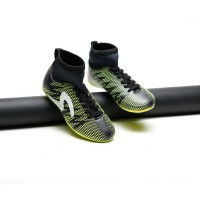 sepatu futsal kids specs spyder green black lokal premium 32-38