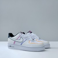 Nike Air Force 1 Low Day of the Dead (2019) REFLECTIVE - Putih, 40