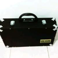 Hardcase Flightcase efek gitar 50 x 30 x 13 cm