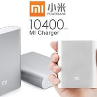 Xiaomi powerbank 10000 mah ori PB 10400 mah ( silver)