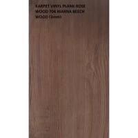 KARPET VINYL PLANK ROSE WOOD 704 WARNA BEECH WOOD
