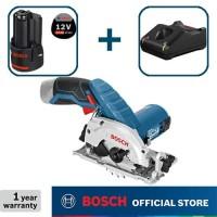 Bosch Gergaji Sirkel Baterai 12Volt GKS 12 V-LI Full Set (3,0 Ah)