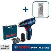 Bosch Bor Obeng Baterai dengan Mata Bor CYL-4 5pcs GSR 120-LI GEN3