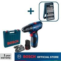 Bosch Bor Obeng Baterai dengan Mata Obeng 25pcs X-Line GSR 120-LI GEN3