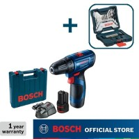 Bosch Bor Obeng Baterai dengan Mata Bor 33pcs X-Line GSR 120-LI Gen3
