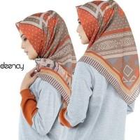 Hijab Segi Empat Deenay Kw Orange Bueno Kekinian Fashion Hijab