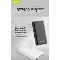 Robot Powerbank RT7200 Dual USB 6600mAh