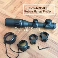 Tasco 4x32 AOE - Scope - Tele 4x32 - Teleskop - Teropong - Telescope