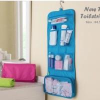Paling Populer Hanging Toiletries Bag Organizer Tas Kosmetik Travel