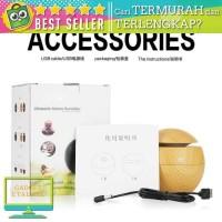 Termurah Promo Air Humidifier Aroma Therapy Taffware Desain Kayu - H41