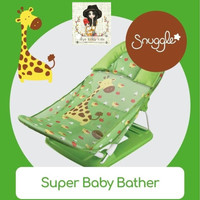 Crown Baby Bather Snuggle / Kursi Mandi Lipat Bayi / BABY BATH
