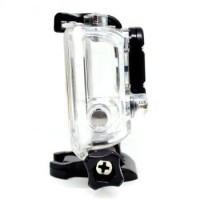 Dazzne Waterproof Housing Case GoPro Hero 3plus Action Camera Casing