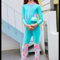 Hot List Baju Renang Anak Cewek 2In1 Pink Tosca Diving Import Topi