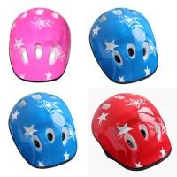 Helm Sepeda Anak Laki-laki / Perempuan Warna Pink / Biru / Merah
