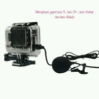 Mini USB Connection Microphone for Gopro Hero 3 & 4 Action Camera