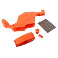 [12Q]WOR KER W0130 Mod Housing and Muzzle Cap Dagger Kit Stryfe Toy