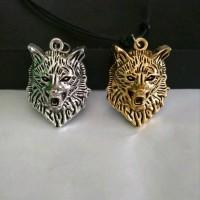 kalung cowok liontin singa