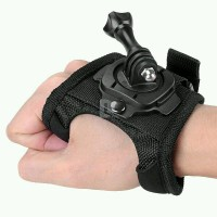 Rotating 360 Degree Glove Hand Strap Band for Action Camera GoPro