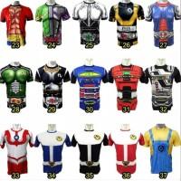 baju kaos kostum super hero ultah olahraga renang anak costume pakaian