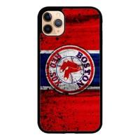 Hardcase Casing iPhone 11 Pro Max Boston Red Sox Grunge Baseball Clu