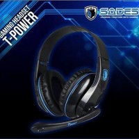 Gaming Headset Sades T-power T Power Sa 701 Sa701