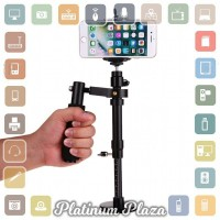 Stabilizer Steadycam for Smartphone Action Camera GoPro - Black