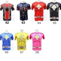 baju kaos kostum super hero ultah olahraga renang anak costume Best