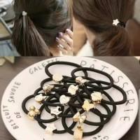 Ikat Rambut Karet Korea Karet Gelang Kuncir Hair Accessories