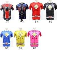 Promo Baju Kaos Kostum Super Hero Ultah Olahraga Renang Anak Costume