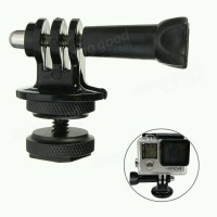 Tripod Screw Mount Konverter Adapter Action Camera GoPro Xiaomi Yi