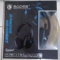 Headset Gaming Sades 708 Gpower