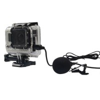 Terbaru - Mini USB Microphone Mikrofon Mic Stereo Action Camera GoPro