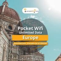 Sewa Pinjam Wifi Eropa Daily Truly Unlimited Share 5 device