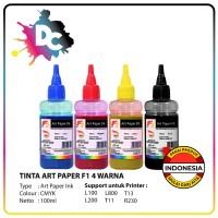 SET TINTA ART PAPER F1 INK CMYK 100ML LEBIH MURAH