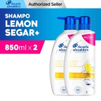 Head and Shoulder Shampoo Lemon Fresh 850ml Paket isi 2 (FS)