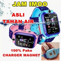 Jam Tangan Anak IMO Smart Watch phone kids Aimo ANTI AIR BISA RENANG - Merah Muda