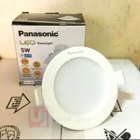 lampu downlight panel panasonic 5 wat inbow lampu led