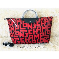 Tas longchamp LGP red travel
