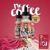 Liquid Vape MR COFFEE Strawberry Vanilla Latte 6mg Murah IDJ Mr.Coffee