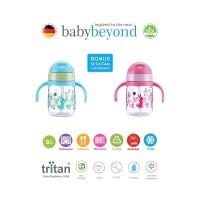 baby beyond - BB 1031 TRITAN EASYFLIP STRAWCUP XTRA STRAW 250ML