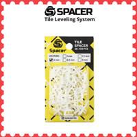 Spacer Tile 2 mm alat pengatur jarak nat keramik lantai