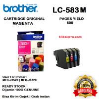 BROTHER Tinta LC583M   LC583 M Original LC-583M Magenta