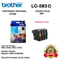 BROTHER Tinta LC583C   LC583 C Original LC-583C Cyan
